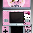 Cute PINK KITTY game girls SKIN COVER 3 for Nintendo DS