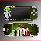 Ben 10 Alien Force cartoon game SKIN #1 for Sony PSP