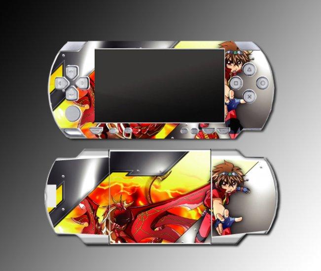 Bakugan sphere ball Battle Brawler game SKIN 4 Sony PSP