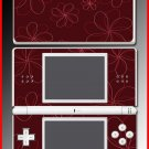 Floral Flower design pretty SKIN 3 for Nintendo DS Lite