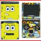Spongebob Squarepants Game Skin #1 for Gameboy GBA SP