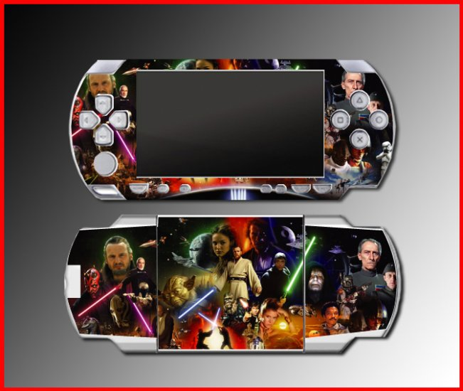 Star Wars Jedi Obi-Wan Luke Sith SKIN #2 for Sony PSP