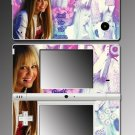 Hannah Montana Miley Cyrus game Skin 8 for Nintendo DSi