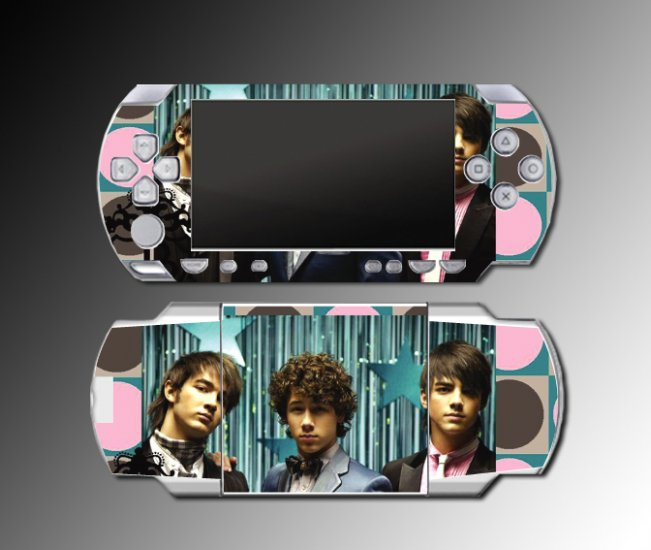 Jonas Brothers game cover mod case SKIN 1 Sony PSP new