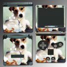 Dog Jack Russell Terrier Puppy SKIN 2 Nintendo GBA SP