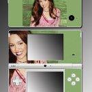 Hannah Montana Miley Cyrus music Skin #11 Nintendo DSi