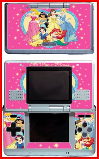 Beautiful Princess Friends Game Skin #1 for Nintendo DS