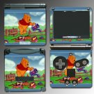 Winnie the Pooh Tigger Video Movie Game Skin for GBA SP