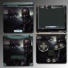 Terminator Salvation movie game SKIN Nintendo GBA SP