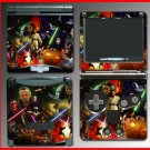 Star Wars Obi-Wan Jedi Sith SKIN 2 for Nintendo GBA SP