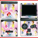 PRINCESS FRIENDS WORLD GAME SKIN #2 for Nintendo GBA SP