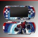 Transformers Optimus Prime game SKIN #6 for Sony PSP