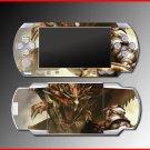 Monster Hunter Freedom game SKIN #1 for Sony PSP