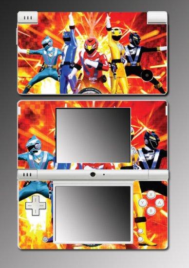 Mighty Morphin Power Rangers Game Skin #2 Nintendo DSi