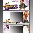 Hannah Montana Miley Cyrus Game Skin #14 Nintendo DSi
