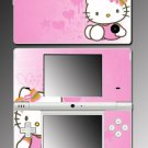 Pink Cute Kitty Princess game Skin #5 for Nintendo DSi