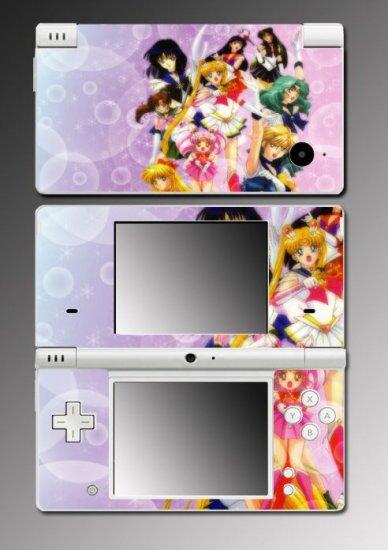 Sailor Moon Jupiter Mars game Skin for Nintendo DSi