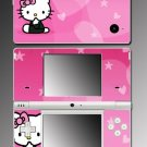 Pink Cute Kitty Hearts game Skin #4 for Nintendo DSi