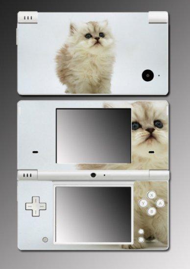 Cute Cat Kitty pet persian game Skin 1 for Nintendo DSi