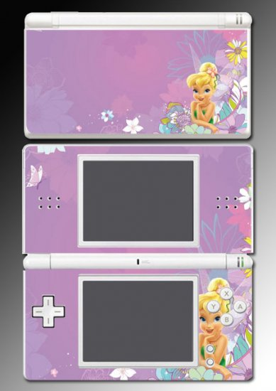 Tinkerbell Princess Fairy Skin #10 Nintendo DS Lite