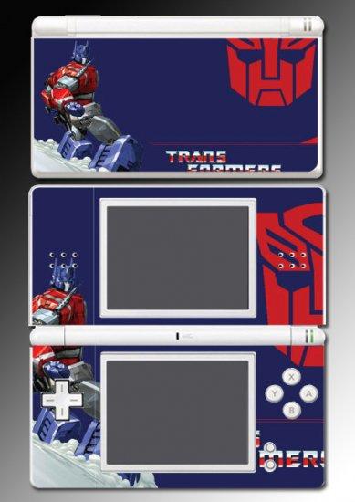 Transformers Optimus Prime Skin 13 for Nintendo DS Lite