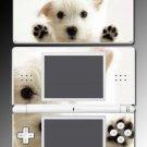 White Terrier dog puppy west Skin #10 Nintendo DS Lite