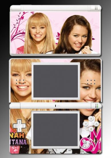Hannah Montana Miley Cyrus Skin 12 for Nintendo DS Lite