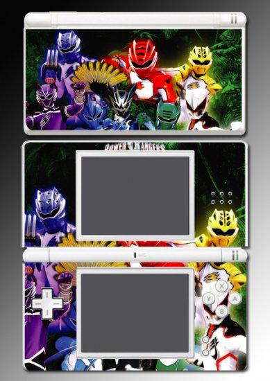 Power Rangers movie game SKIN #1 for Nintendo DS Lite