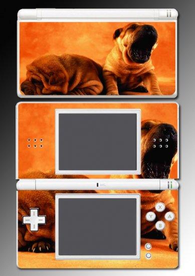 Dog Shar-Pei Towel Puppies SKIN 3 for Nintendo DS Lite