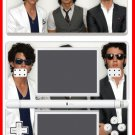 Jonas Bros Blues Brothers SKIN #7 for Nintendo DS Lite