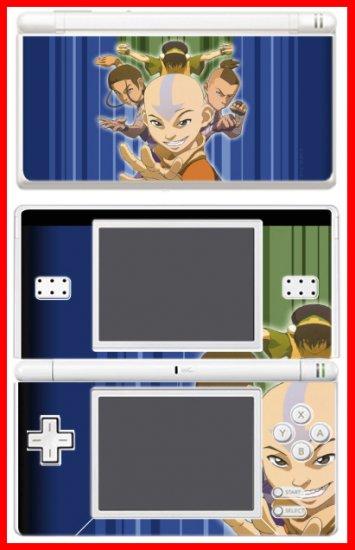 Avatar Last Airbender Aang SKIN #1 for Nintendo DS Lite