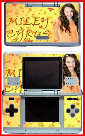 Hannah Montana Miley Cyrus Game SKIN 5 for DS Lite