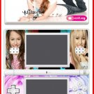 Hannah Montana Miley Cyrus World Game SKIN 1 DS Lite