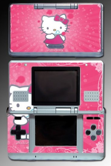 Pink Cute Kitty Princess Fairy SKIN #6 for Nintendo DS