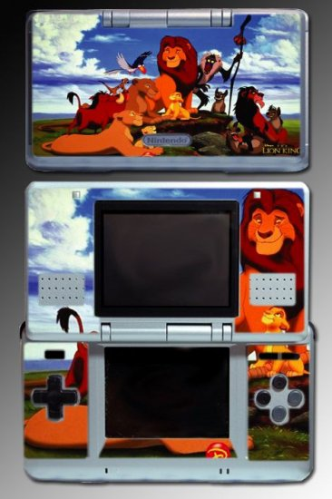 Lion King Simba Game Movie Cartoon Skin For Nintendo DS