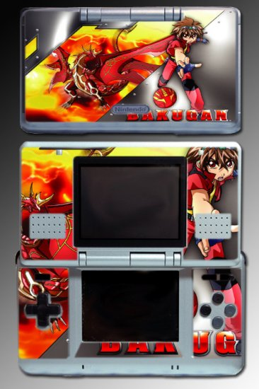 Bakugan game toy ball sphere dan SKIN COVER Nintendo DS