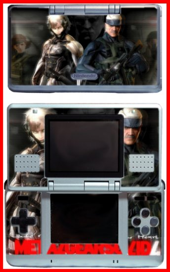 Snake Raiden Metal Gear Solid 4 SKIN #2 for Nintendo DS