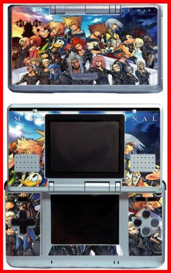 Kingdom Hearts Mickey Goofy GAME SKIN 3 for Nintendo DS