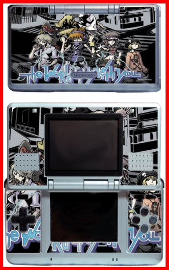 The World Ends With You Game SKIN #1 for Nintendo DS