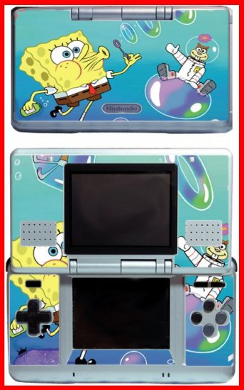 Spongebob Squarepants Game Skin #2 for Nintendo DS