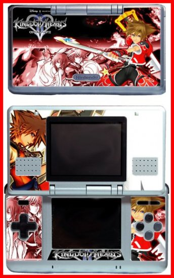 Kingdom Hearts Insider 2 3 Game SKIN #1 for Nintendo DS