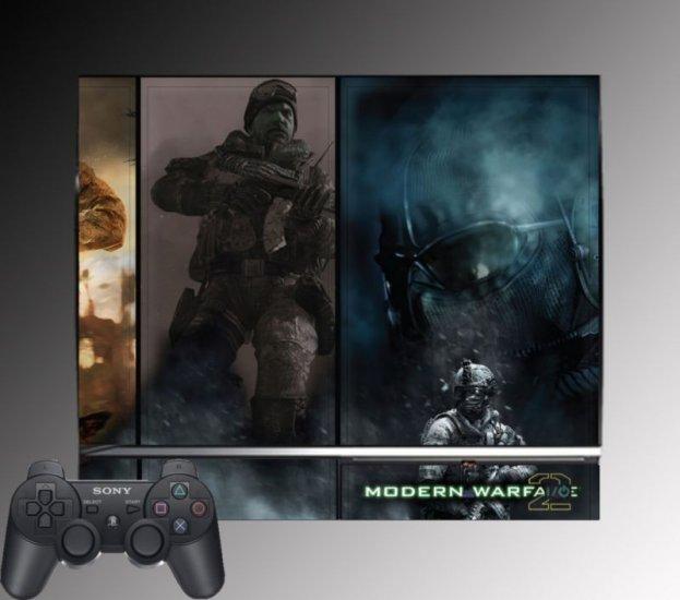 Call of Duty Modern Warfare 2 SKIN #5 Playstation 3 PS3
