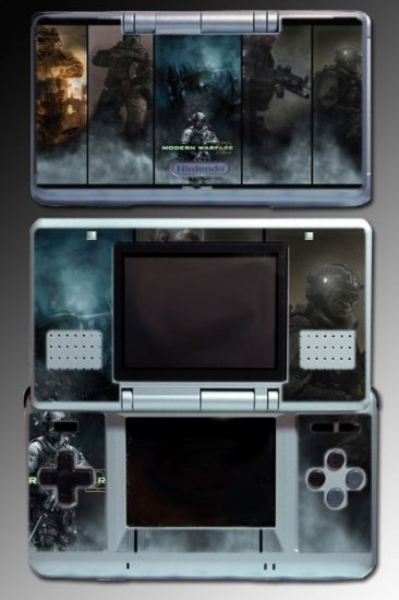 Call of Duty Modern Warfare 2 game SKIN #5 Nintendo DS
