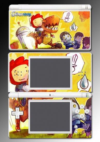Scribblenauts puzzle game vinyl Skin 4 Nintendo DS Lite