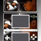 Tiger Woods Golf Athlete game Skin for Nintendo DS Lite