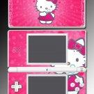Cute Kitty Pink Princess game Skin #6 Nintendo DS Lite