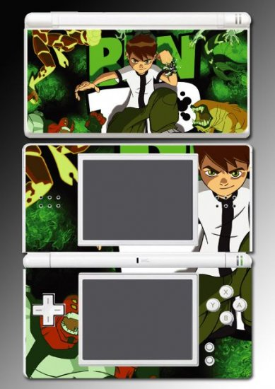 Ben 10 Ten Alien Force game Skin 3 for Nintendo DS Lite