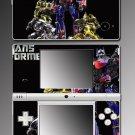 Transformers Autobots robot game Skin #12 Nintendo DSi
