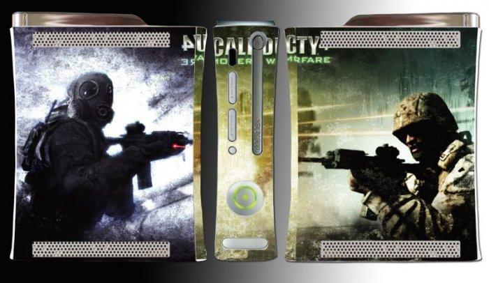 Call of Duty 4 Modern Warfare game SKIN COVER Xbox 360