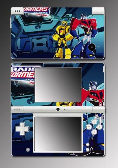 Transformers Animated cartoon game Skin 8 Nintendo DSi
